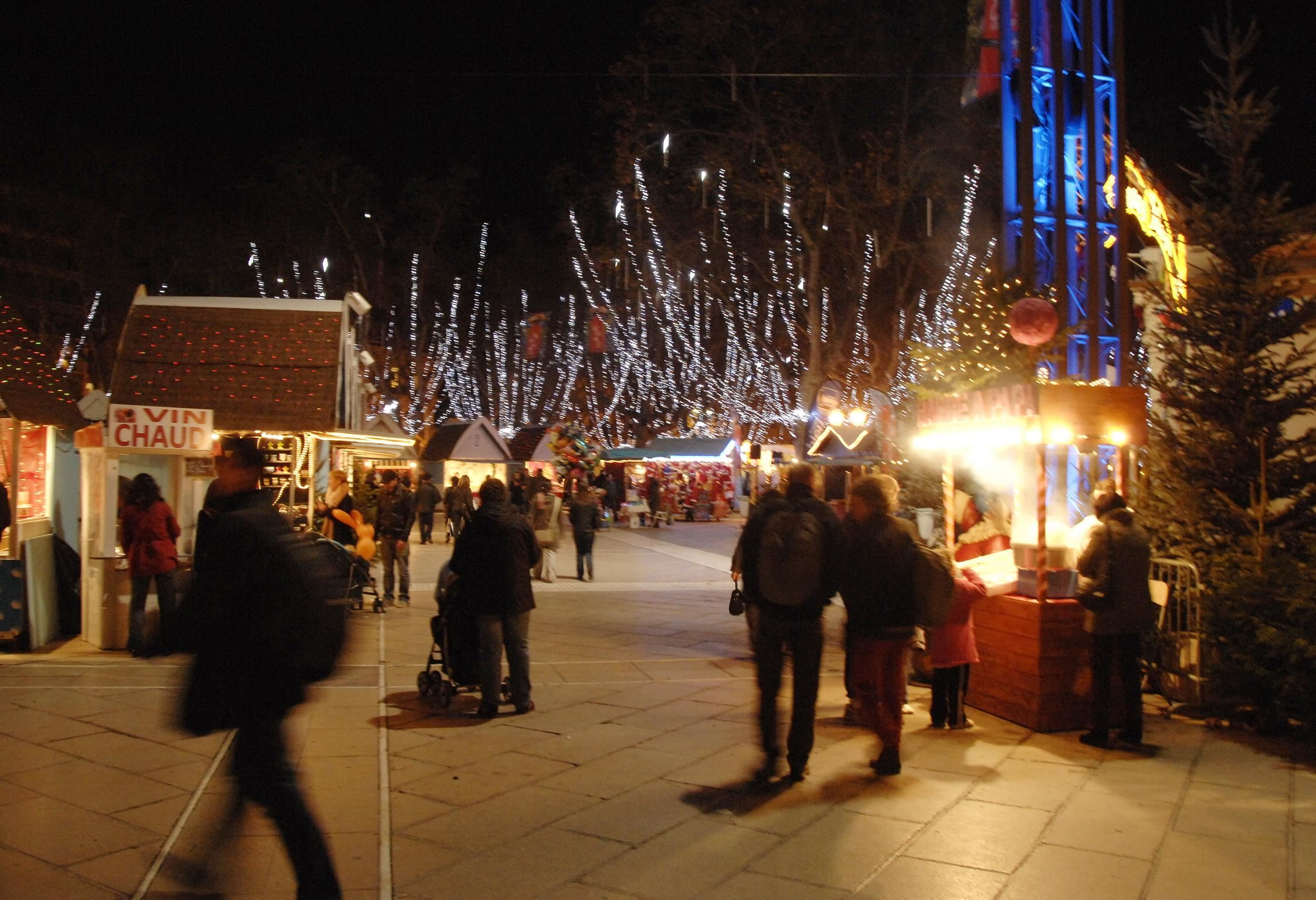 Winter guided tour: Montpellier by night