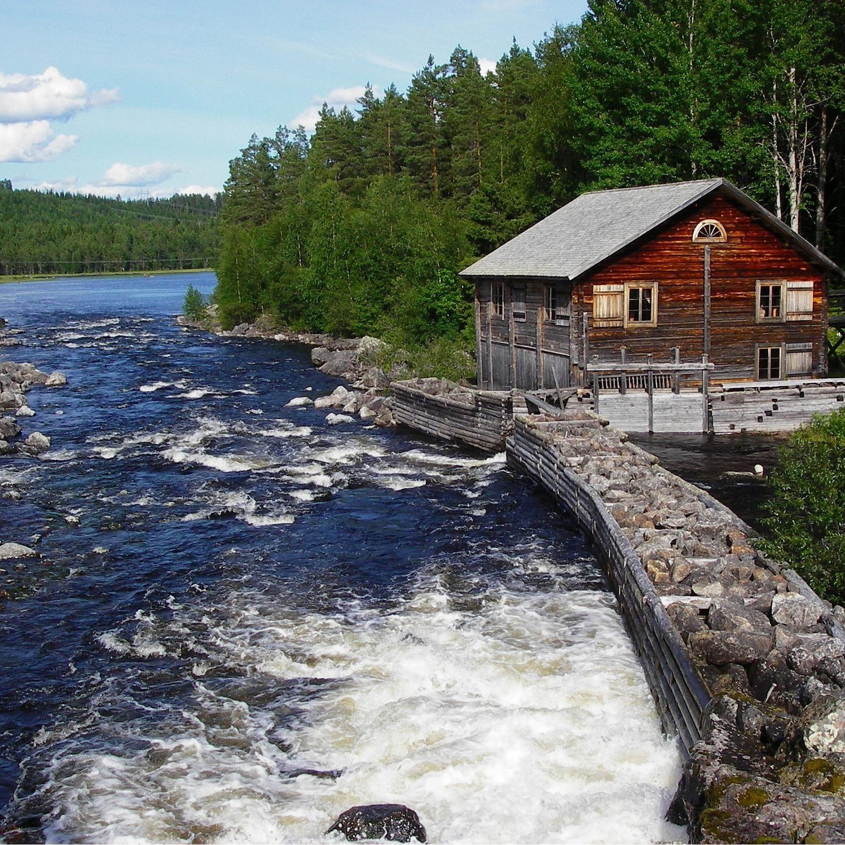 Åsa Hellhoff, Fishing in Haverö Strömmar