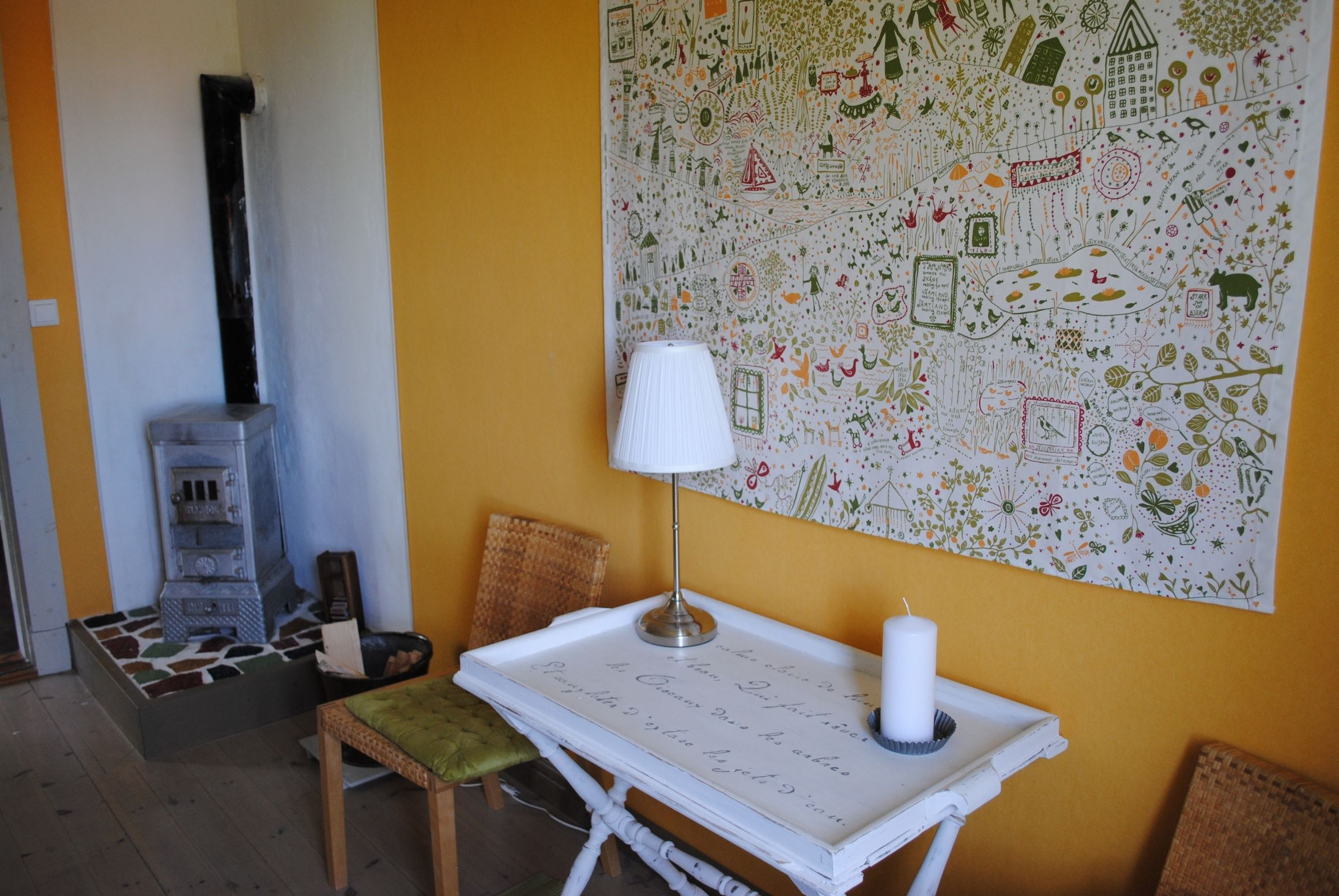 Room at Gamla skolan, Sågsbo