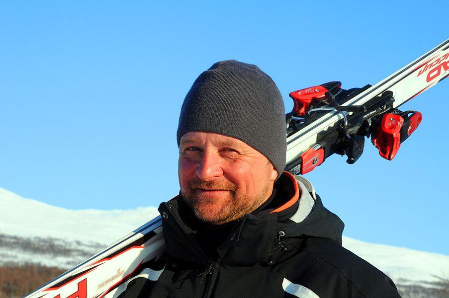 Sam Hedman,  © Hemavan Tärnaby Pr-förening, Konferensaktiviteter med Stig Strand