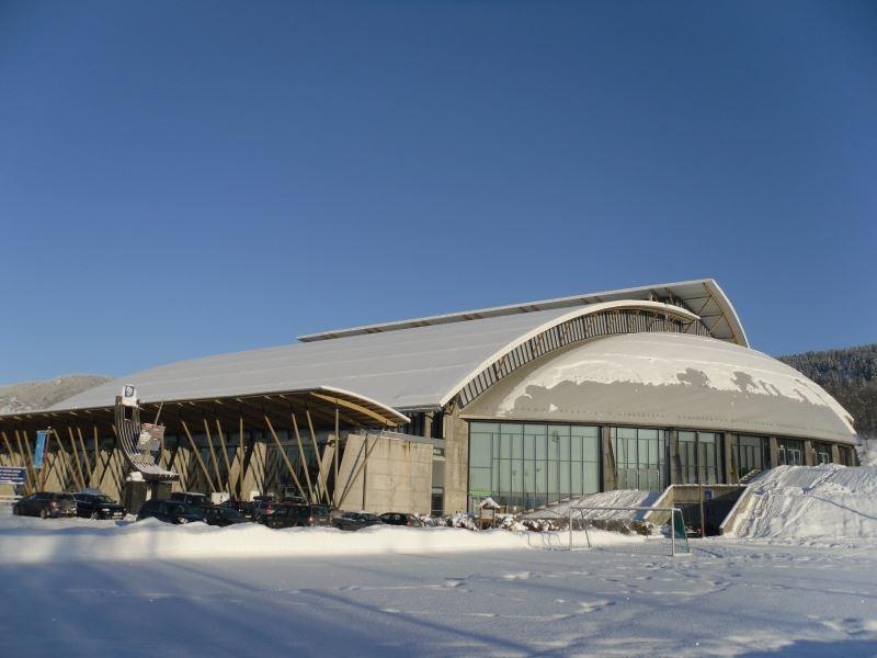Esben Haakenstad,  © Lillehammer Olympiapark, Håkons Hall i Lillehammer