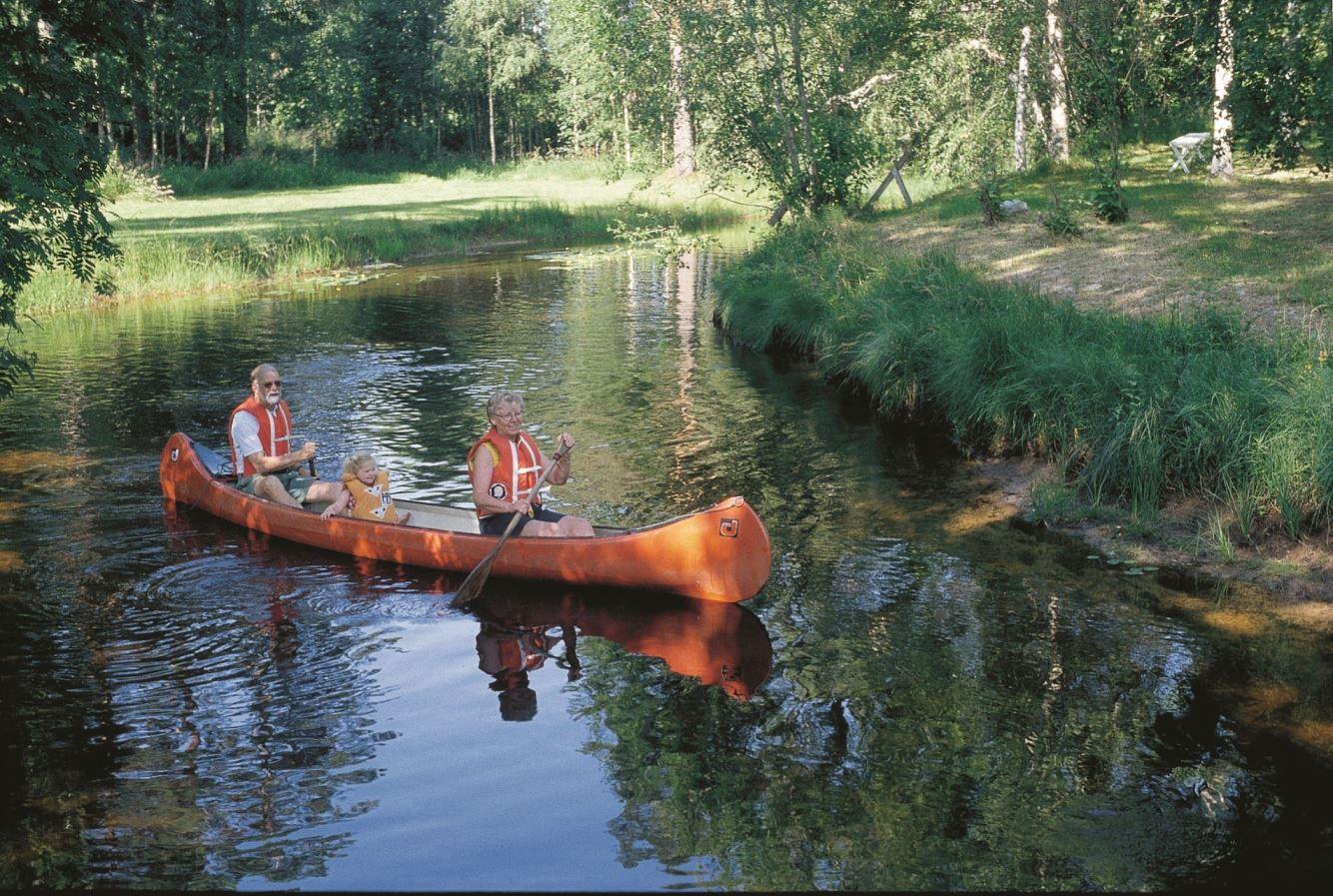 Arne Johansson, Tour suggestions canoe: Johannisholm - Finn Bodarna 17km