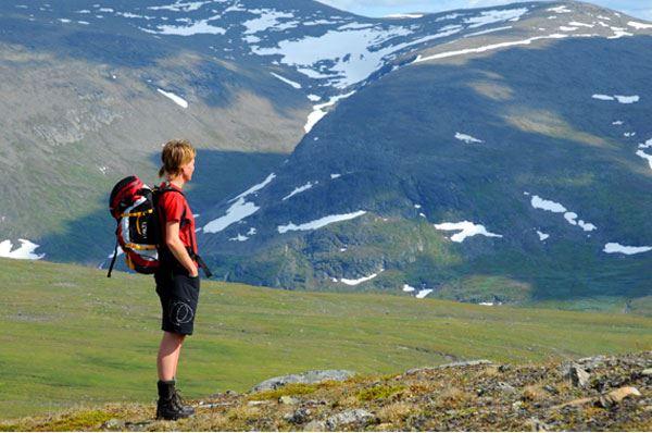 Sam Hedman,  © Hemavan Tärnaby PR-förening, Daalåejvie mountain