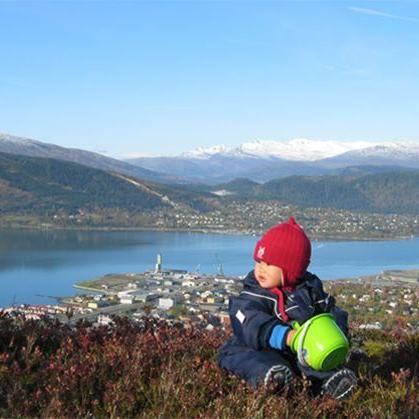 © Hemavan Tärnaby PR-förening, E 12 Blå vägen mot Riksgränsen och Norge och vägen in mot Okstindarne