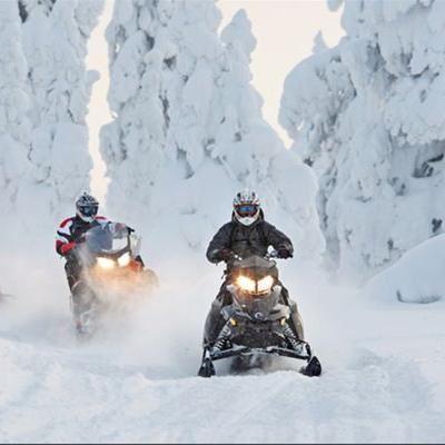 Foto: Vildmarksentreprenörerna,  © Copy: vildmarksentreprenörerna, Snowmobile rental/ Snowmobile safaris