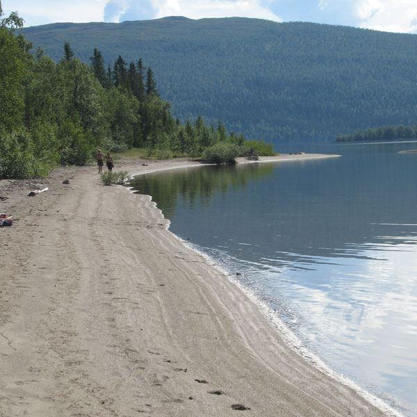 © Hemavan Tärnaby PR-förening, Avanäset beach