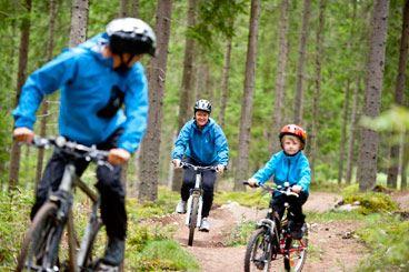 Ulf Palm, Mountainbike på Lugnet i Falun