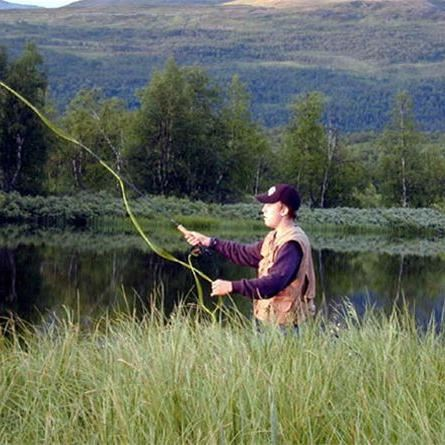 © Hemavan Tärnaby PR-förening, Fishing in the mountains of the County of Västerbotten
