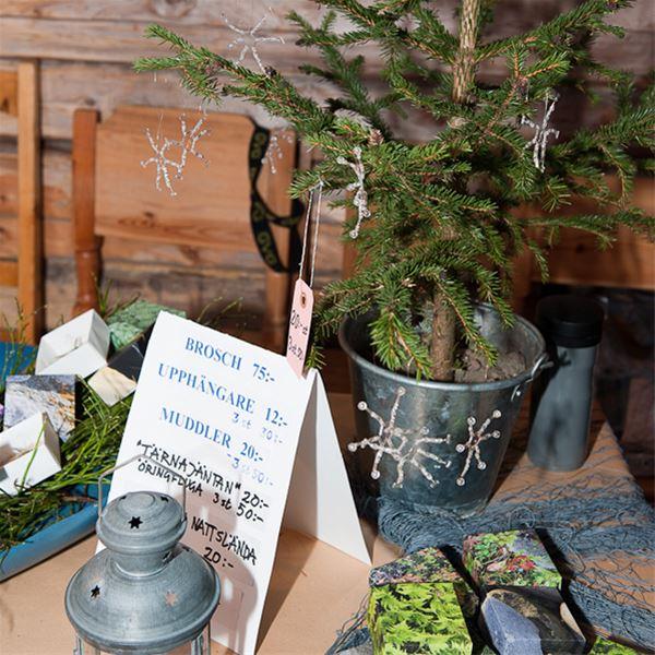 Marianne Lindgren,  © Hemavan Tärnaby Pr-förening, Advent fair at the barn Udden in Tärnaby