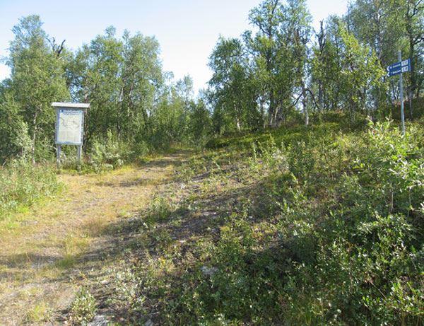 Biellojaure and the trail to Ammarnäs