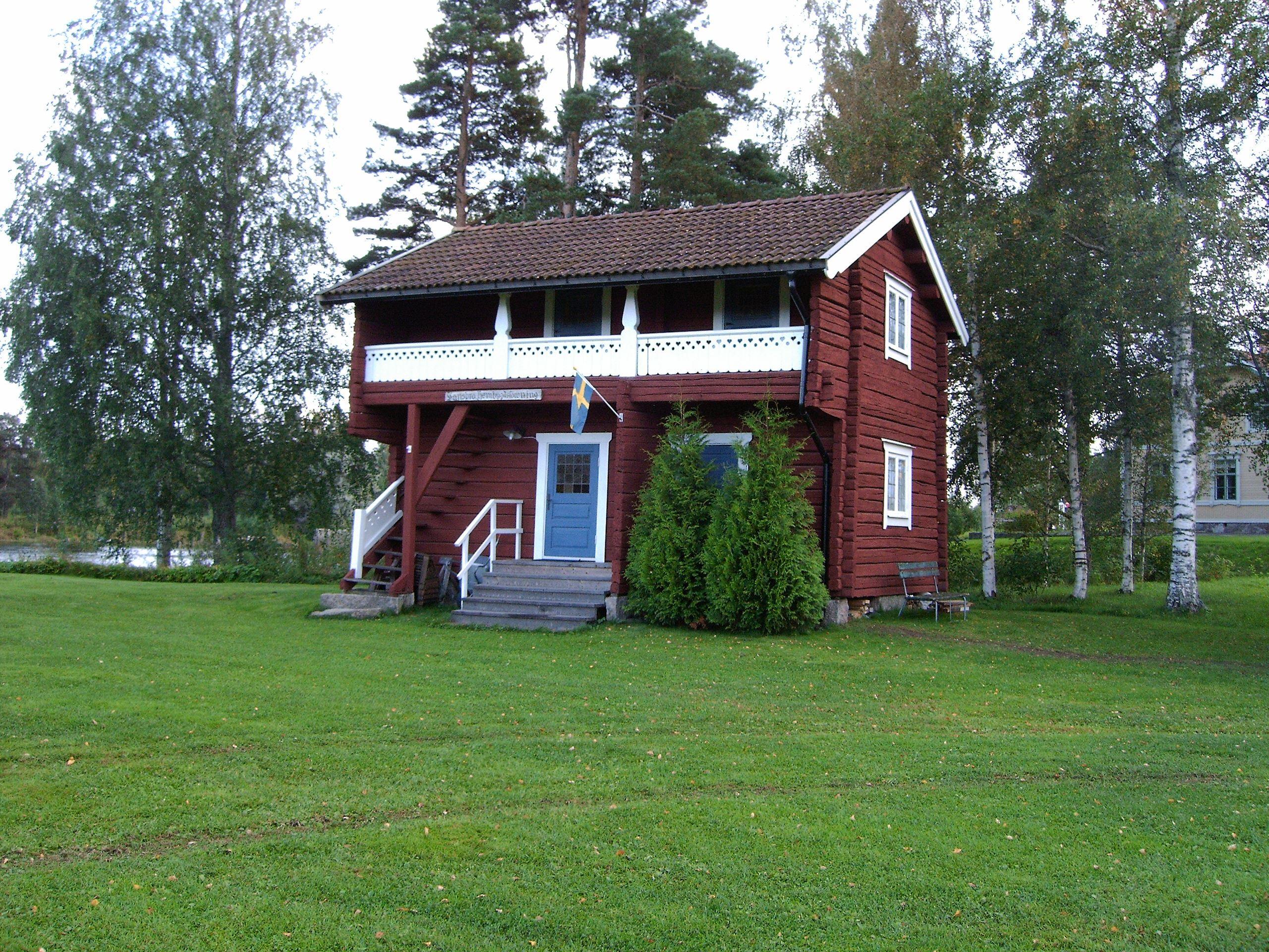 Loftboden på Vansbro Hembygdsgård