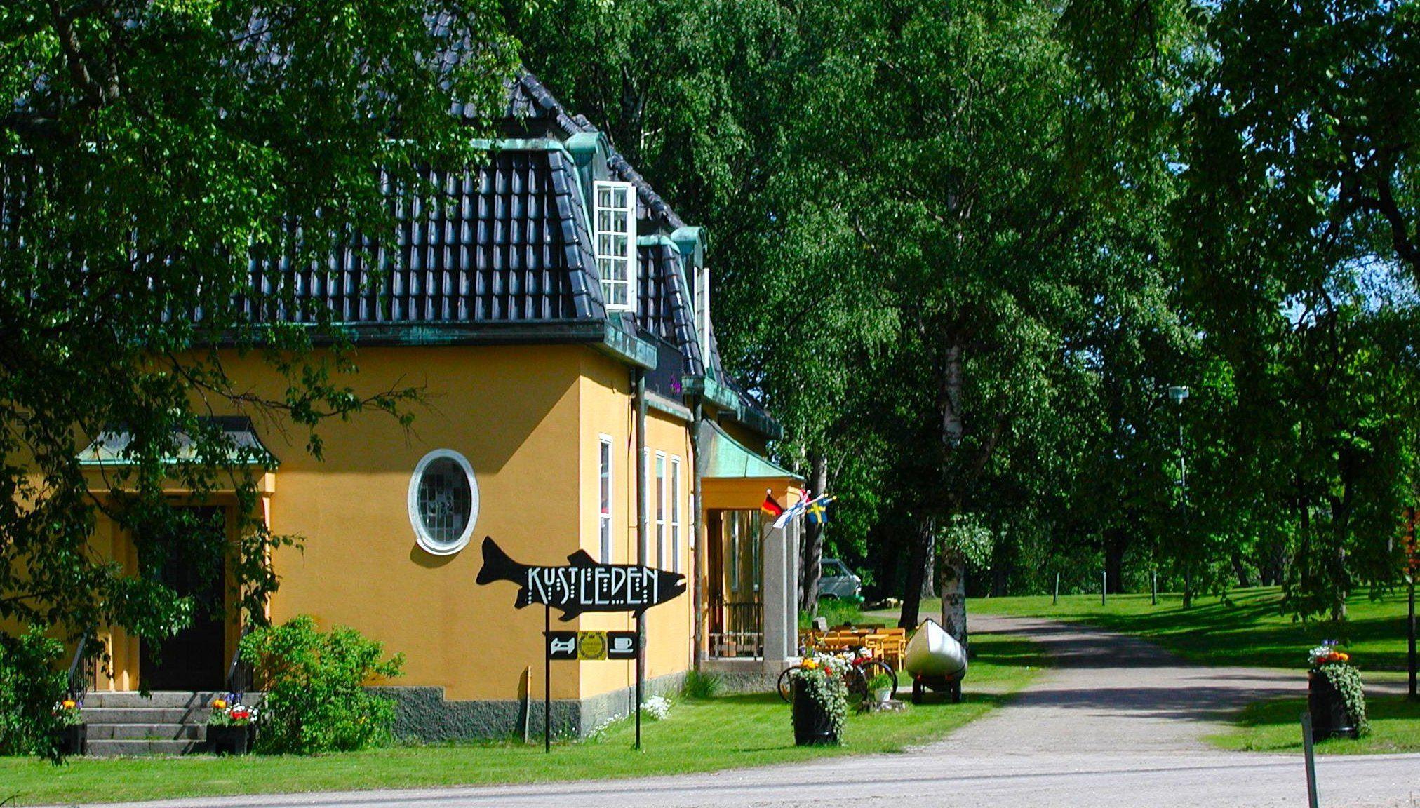 Kustleden Vandrarhem och Semesterlägenheter i Hudiksvall, Hälsingland, SVIF