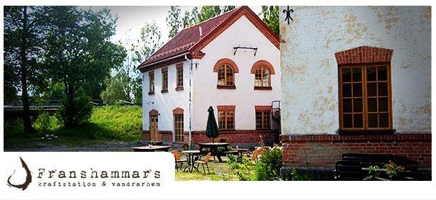 Franshammars Kraftstation,  © Franshammars Kraftstation, Café Kraft i Hassela