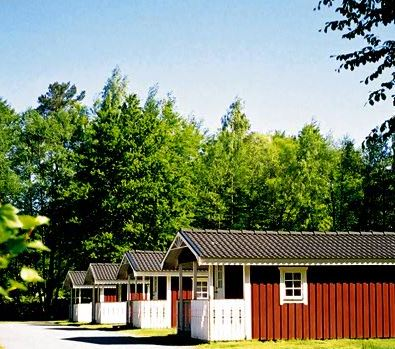 Växjö Swecamp Evedal/Ferienhäuser