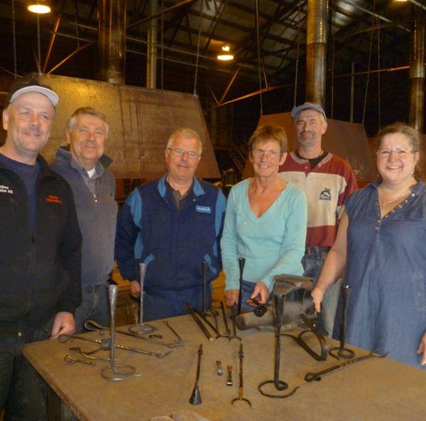 Try Forging, workshop, 6 hours /Smide i Bergslagen/ Treard Event