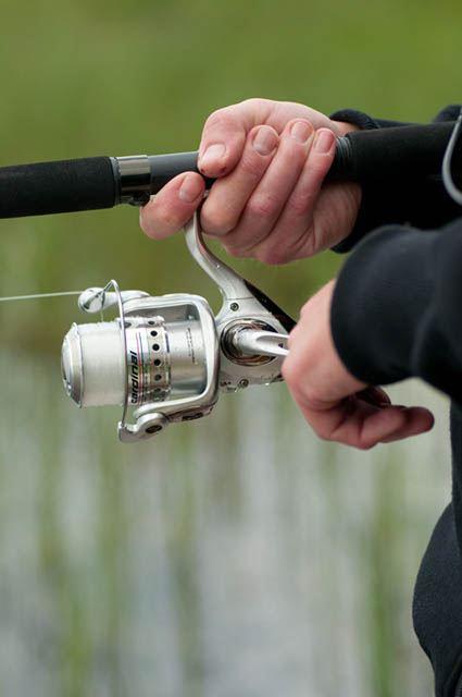 Guidad fisketur på flotte