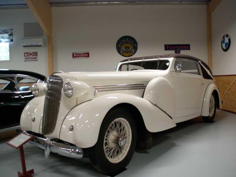 Ivars bilmuseum i Hoting-Guidning