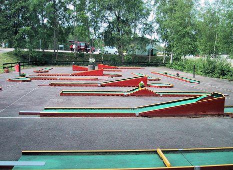Kalmar minigolf club (Ekudden)