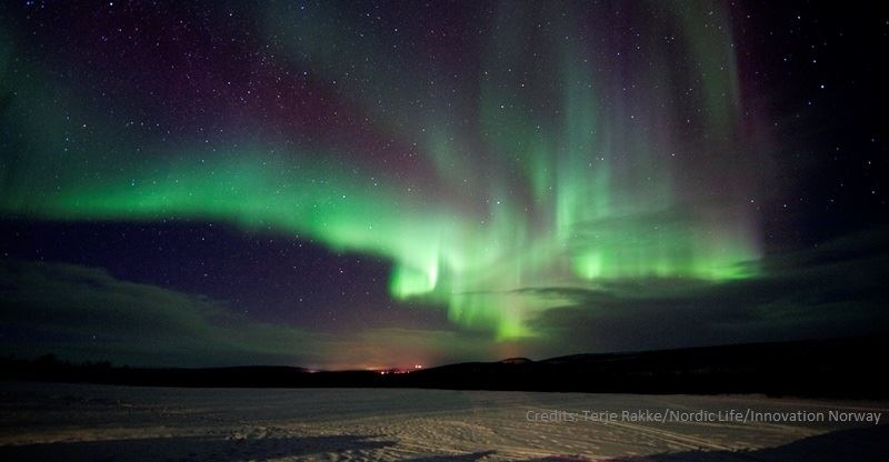 Northern Lights Chase in Spanish