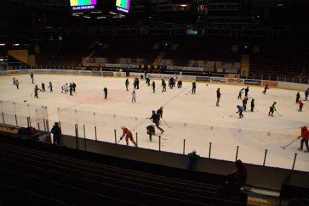 Allmänhetens åkning i Tegera Arena och Weda skog arena, Leksand
