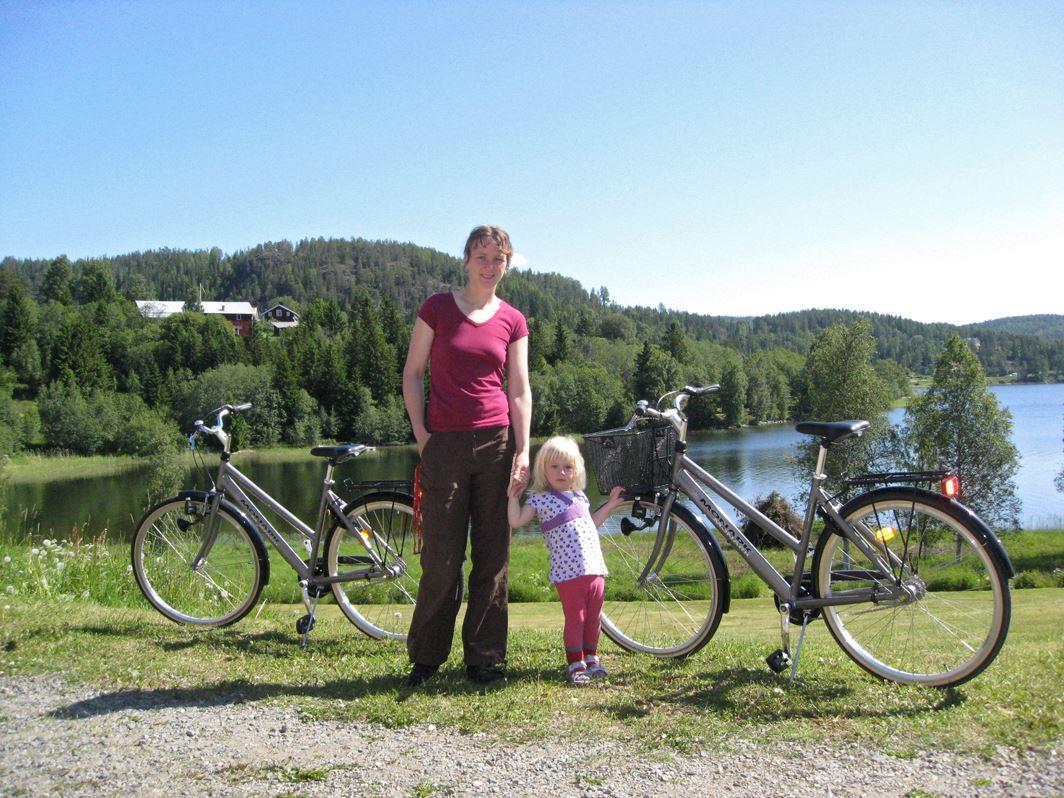 Agne Säterberg, Lappuddens Friluftscenter cykeluthyrning