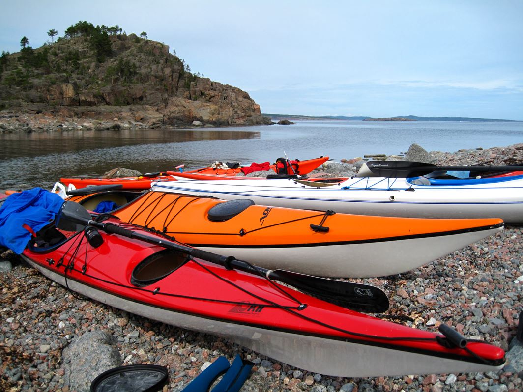 Agne Säterberg, Multi trip - paddling, hiking and cycling in the High Coast