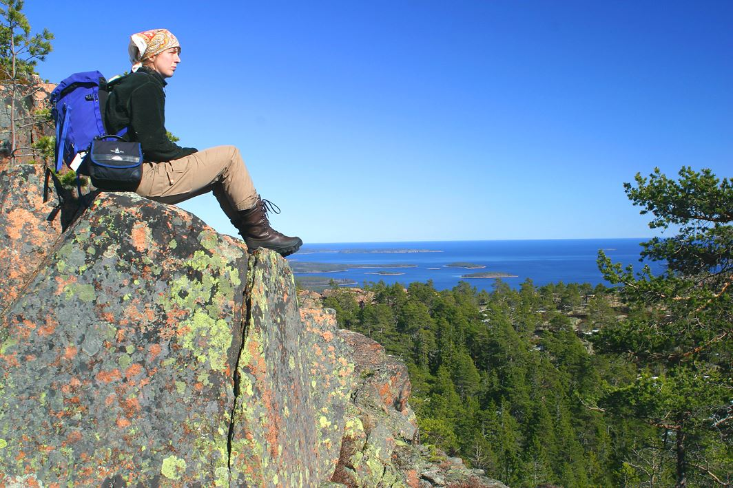 Agne Säterberg, Combination tour - Kayaking and hiking in the High Coast