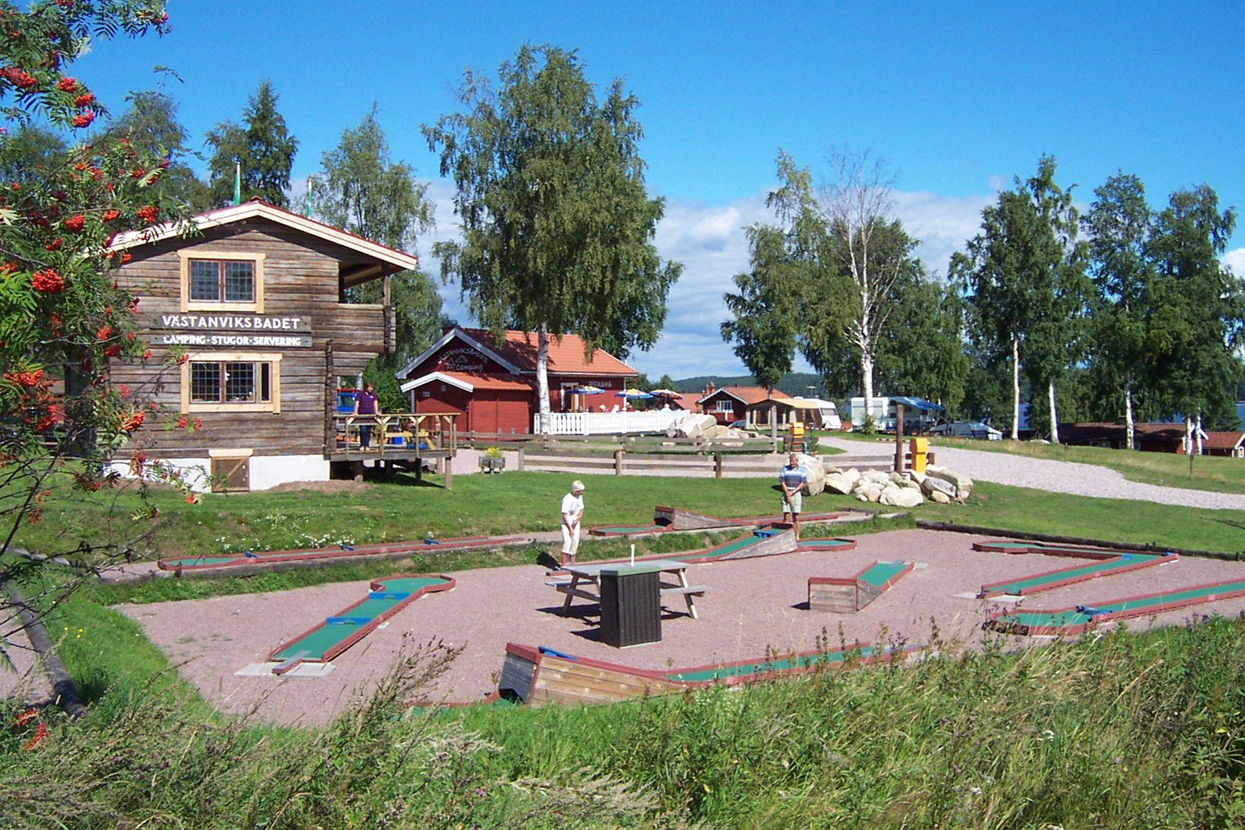 Minigolf, Västanviksbadets Camping