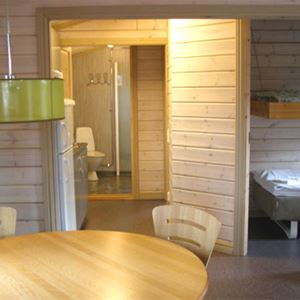 Cottage (4 beds, 2 bedrooms, 37m², WC/shower, pets are not allowed)