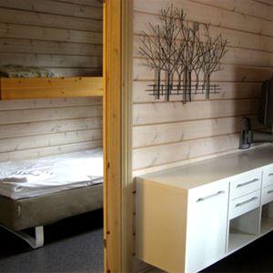 Ansia resort - Stuga (4 bäddar, 2 sovrum, 37m², WC/dusch, husdjur ej tillåtna)
