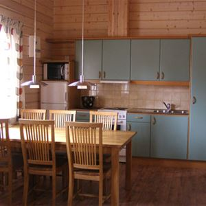Cottage (4 beds, 2 bedrooms, 47m², WC/shower/sauna, pets are not allowed)