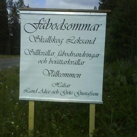 Fäbodgudstjänst i Skallskogs Fäbodar