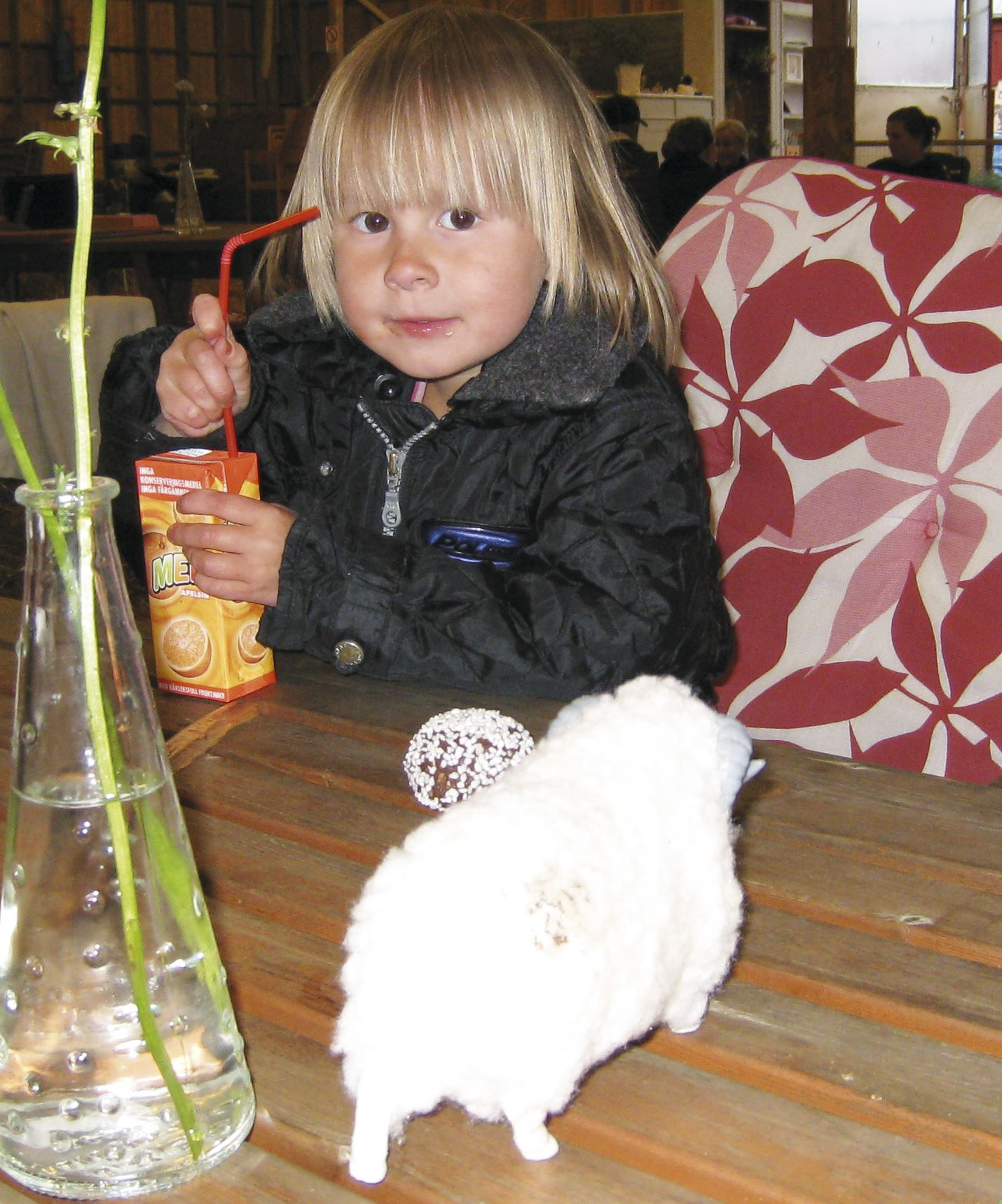 Anki Förste, Café i Fårhus