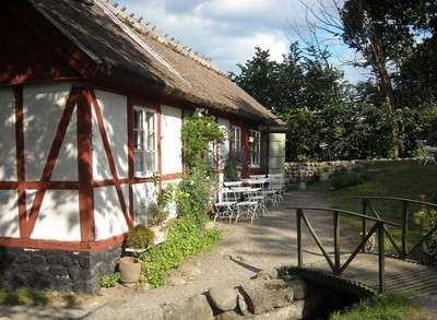 Café Sågmöllan og museibutiken