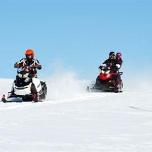 Snowscooter safari in Stöten