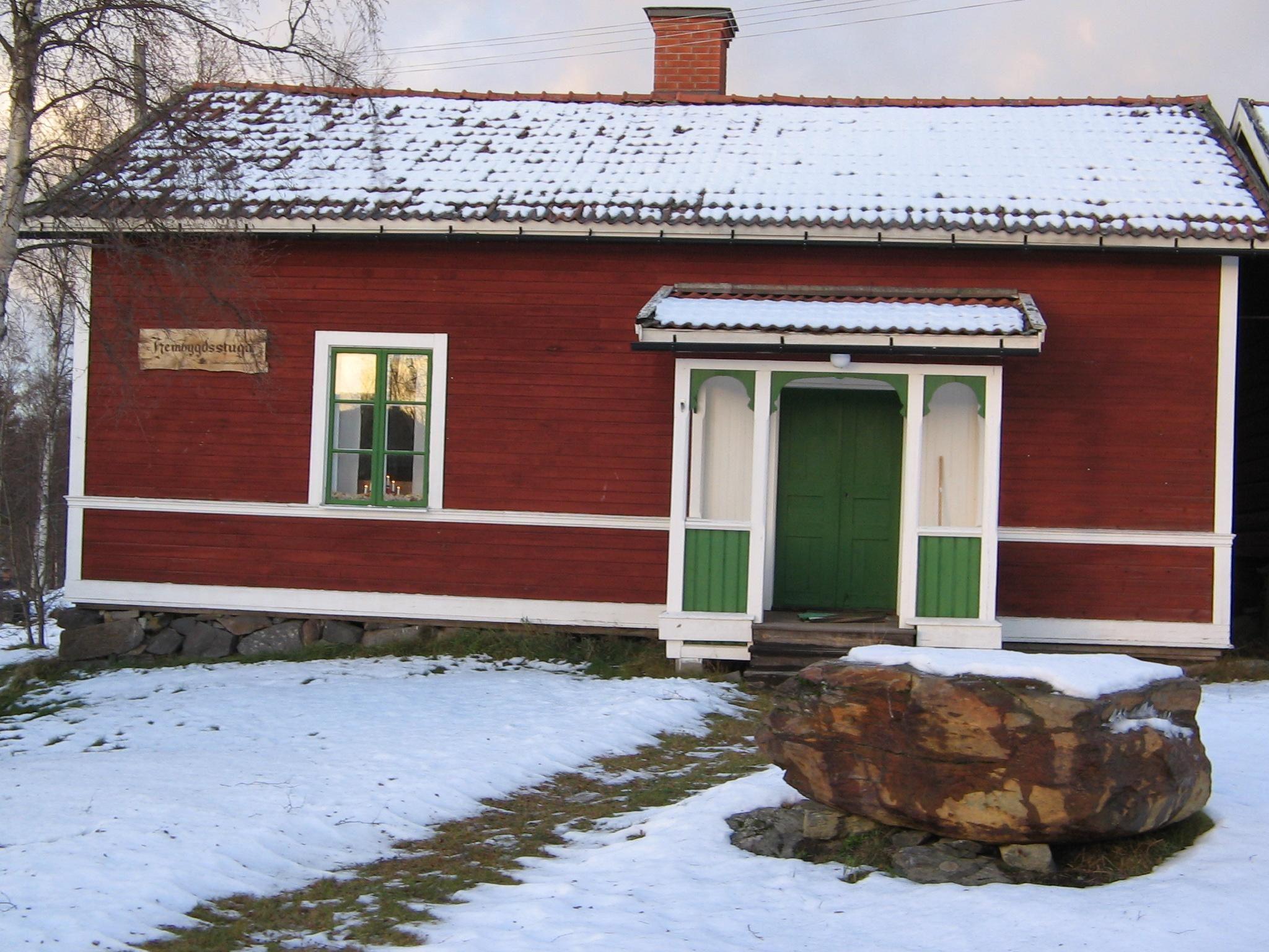 Hembygdsstugan i Holm