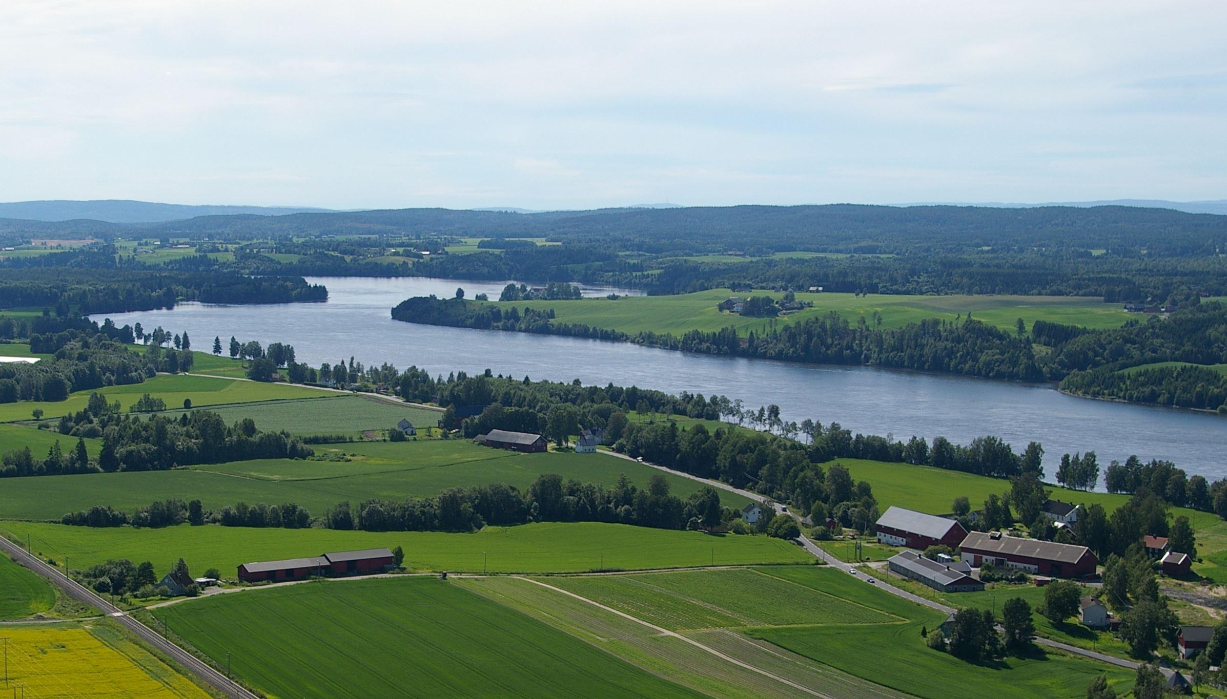 Glomma Hedmark grense - Rånåsfoss