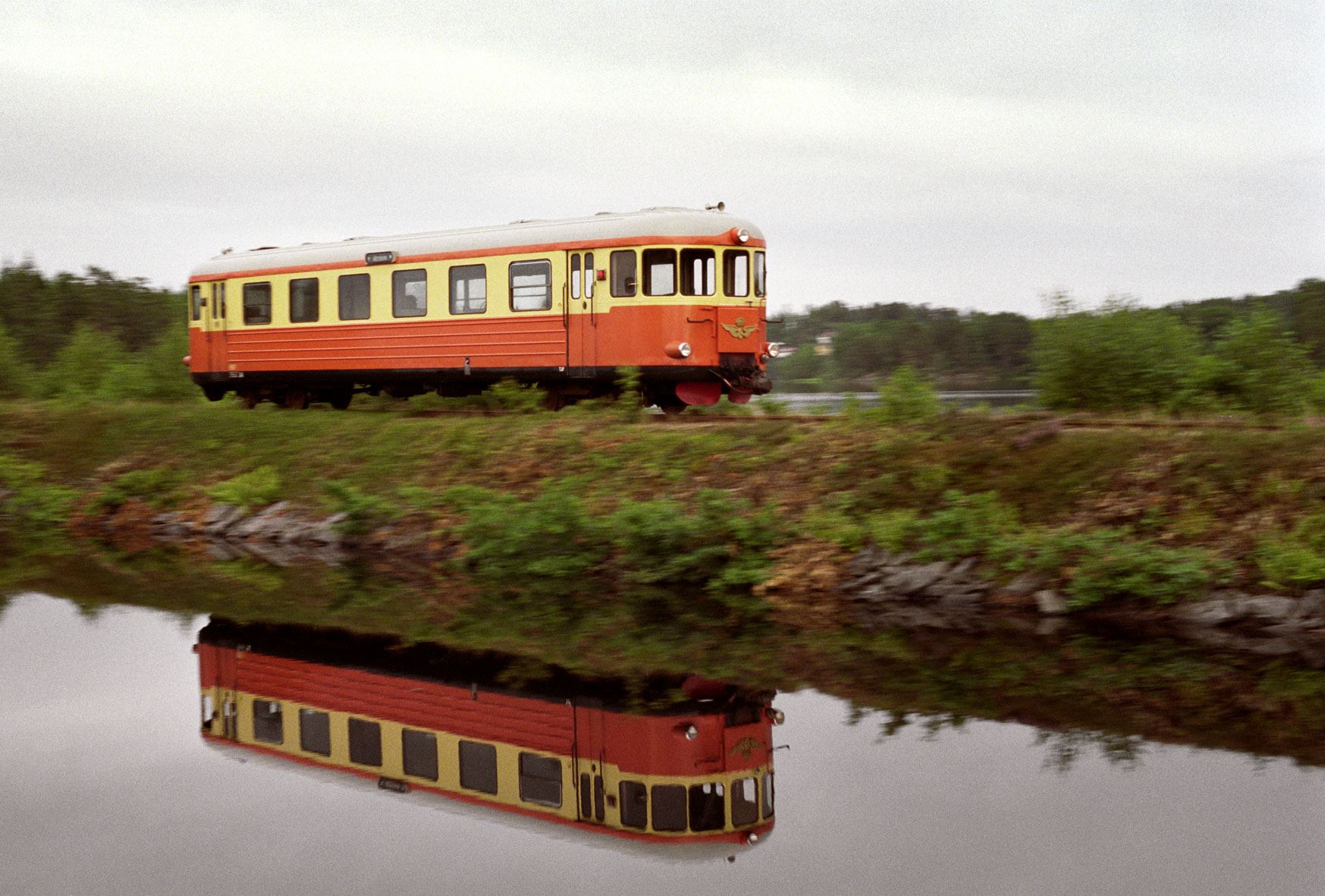 Narrow-gauge railway between Västervik and Hultsfred