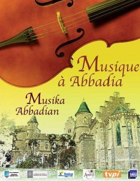 Musique à Abbadia à Hendaye le Samedi 24 mars à 20h30