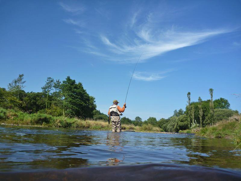 BASK pêche à Sare