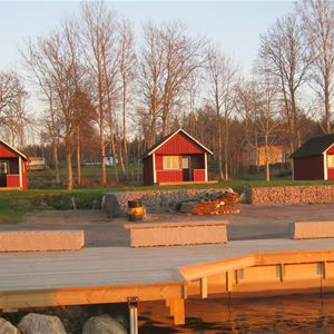 Askeviks Camping & Cottages by Lake Vänern/Cottages