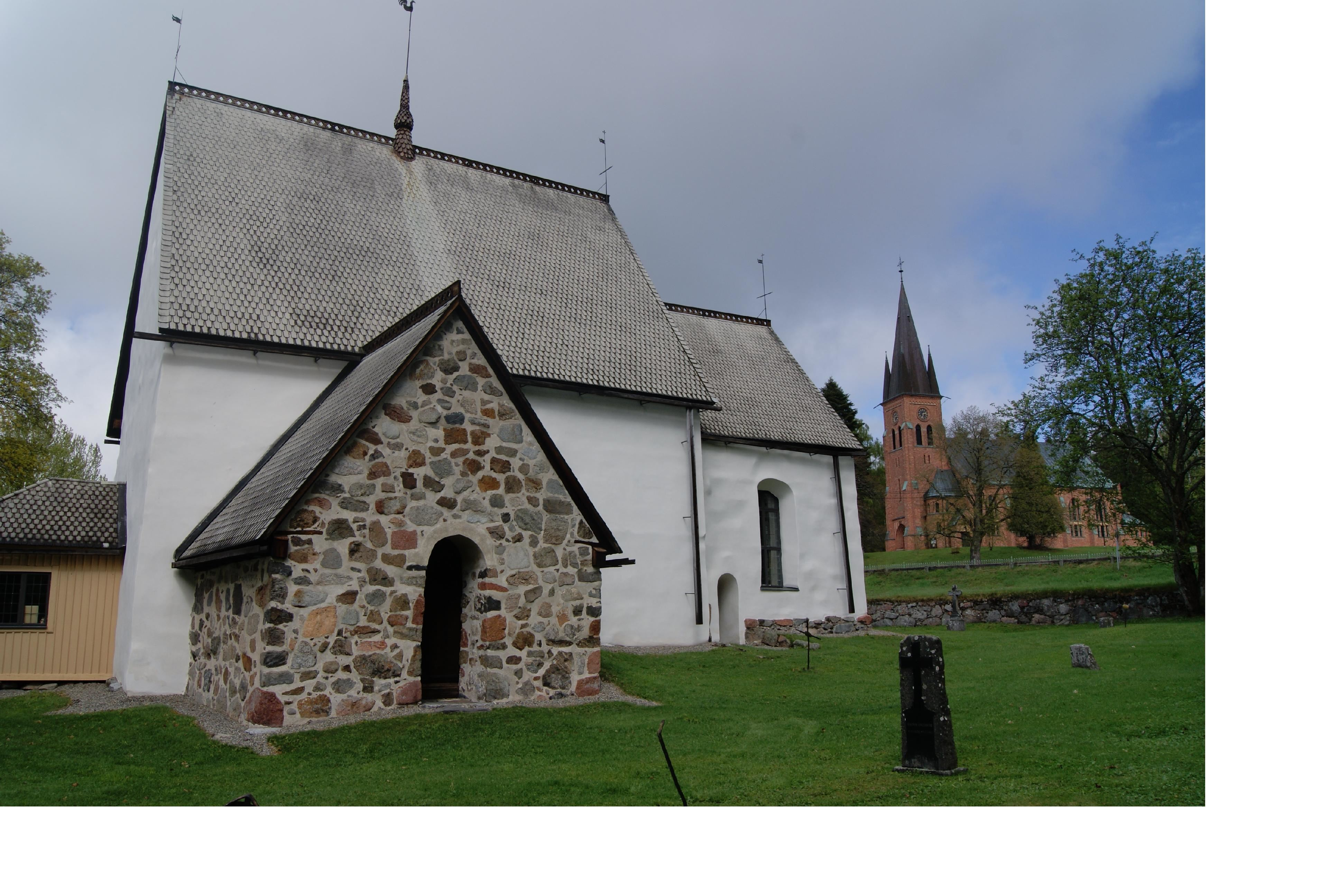 Alte Kirche von Alnö