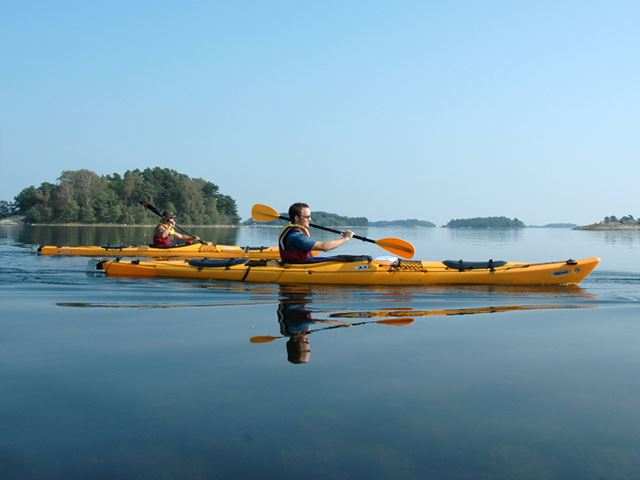 Rental of a singel sea kayak