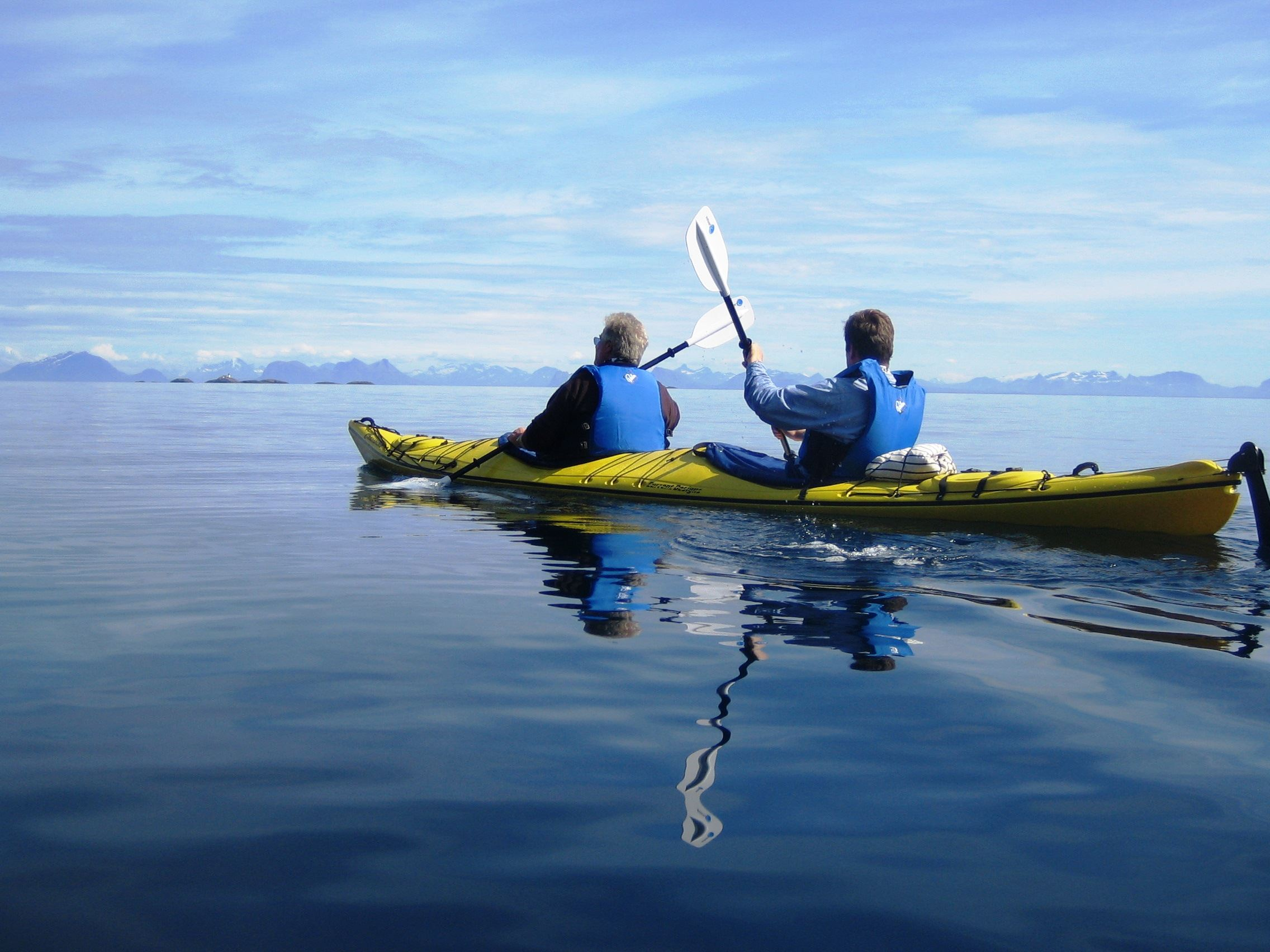 Kayaking from Svolvær