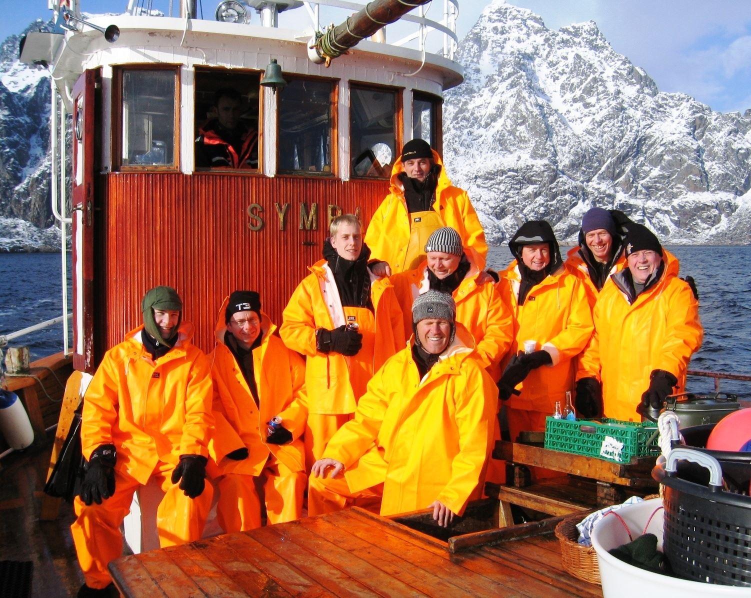 Fishing trip from Svolvær
