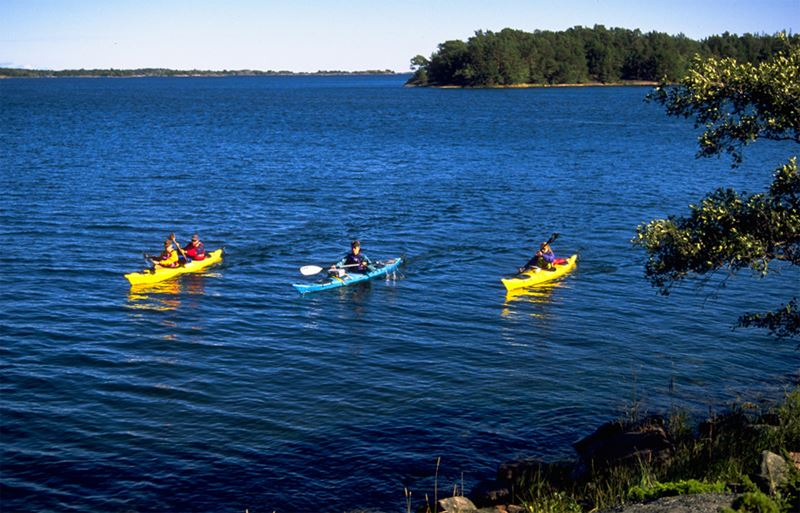 3-day kayaking tour in the Roslagen archipelago with Kajak & Uteliv