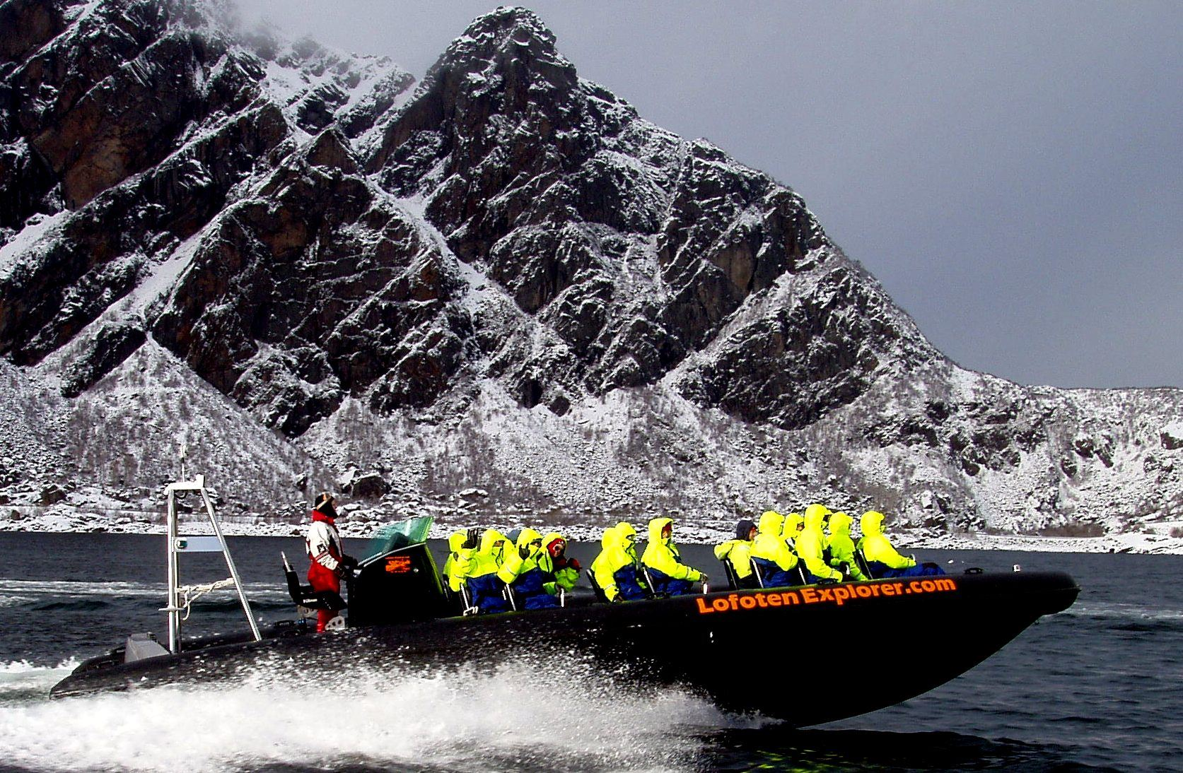 Explore Trolllfjord & Sea Eagle RIB Safari - Lofoten Explorer