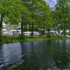 © Vittsjö camping, Vittsjö Camping med övernattningsstugor