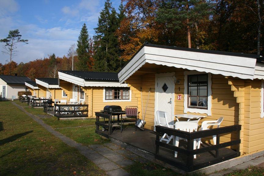 Vittsjö Camping med övernattningsstugor