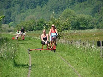 Trolley Cykling St. Olaf- Gyllebosjön